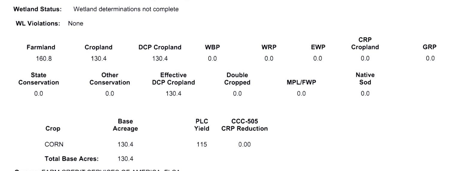 Crop Info 3-1058