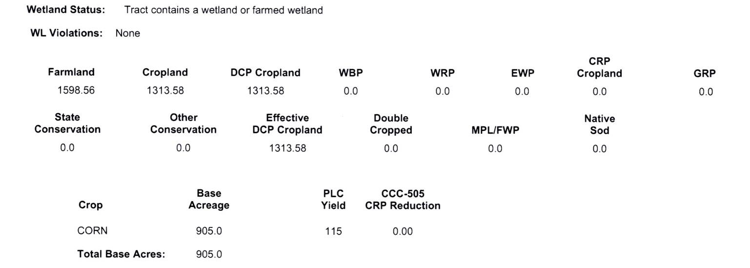 Crop Info 6-1058