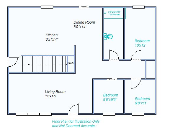 Floor Plan 420 Arrowhead