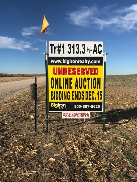 Land Auction 711.4+/- Acres Cheyenne County, KS
