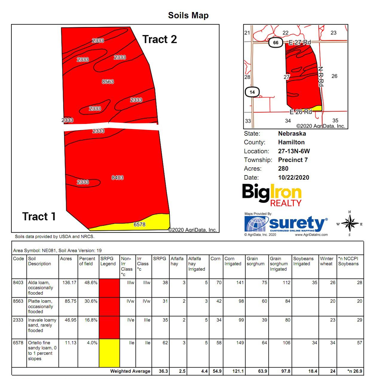 Soil Map BIR109