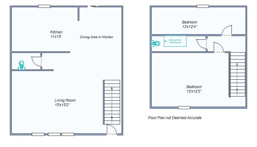 floor plan 162 E Hill