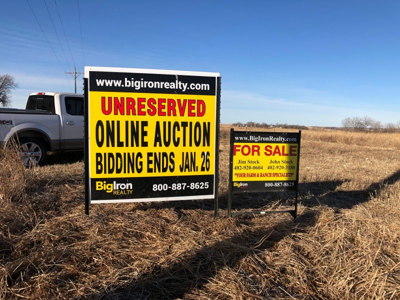 Land Auction 112.86+/- Acres Madison County, NE