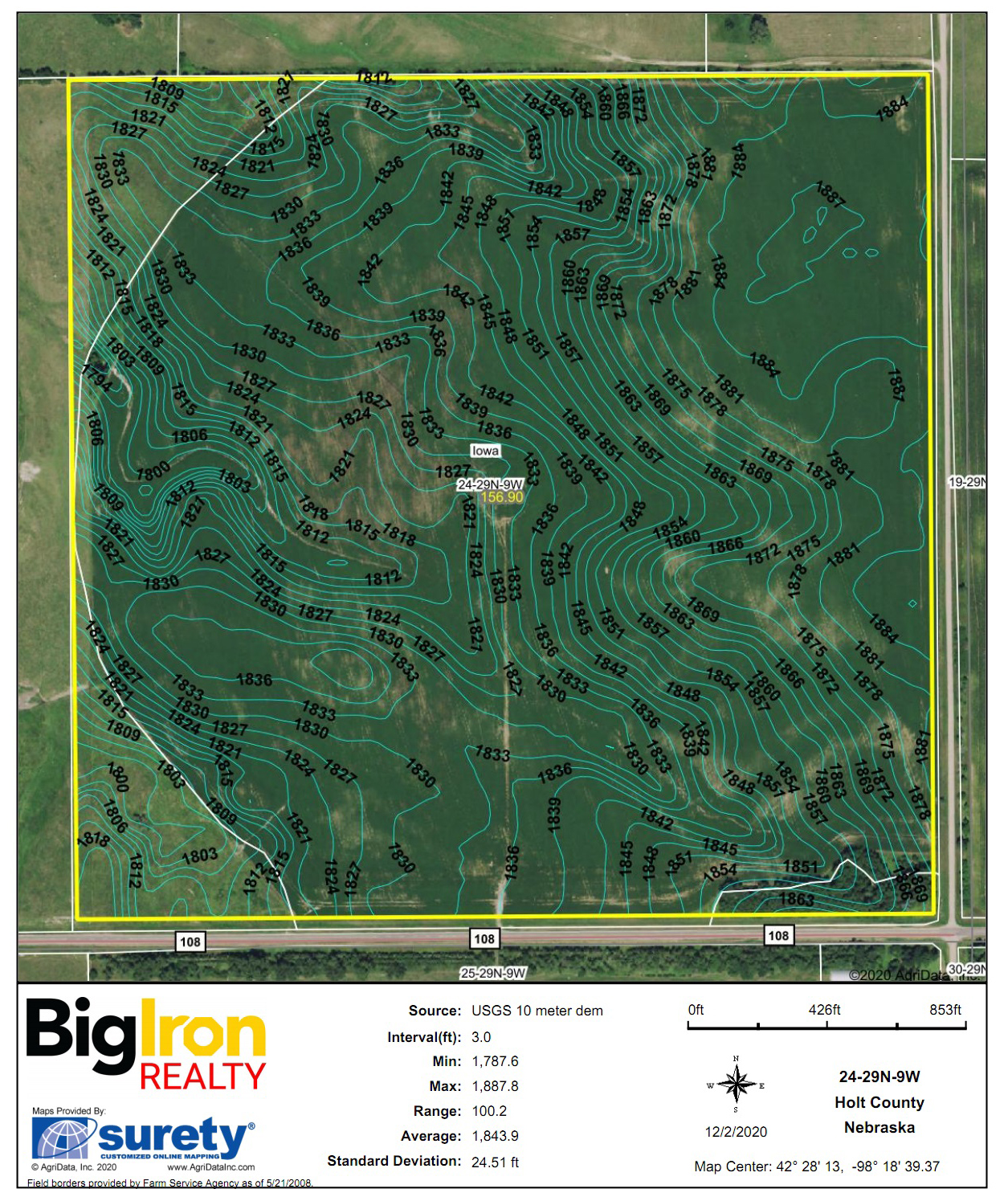 Topography Contours-2-BIR2101