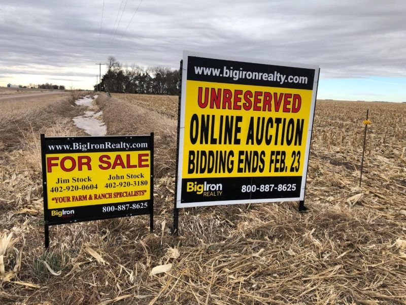 Land Auction 156.16+/- Acres Polk County, NE
