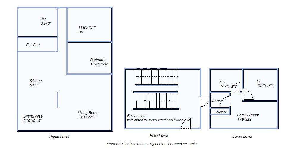 Floor plan 1380 Lue Dr