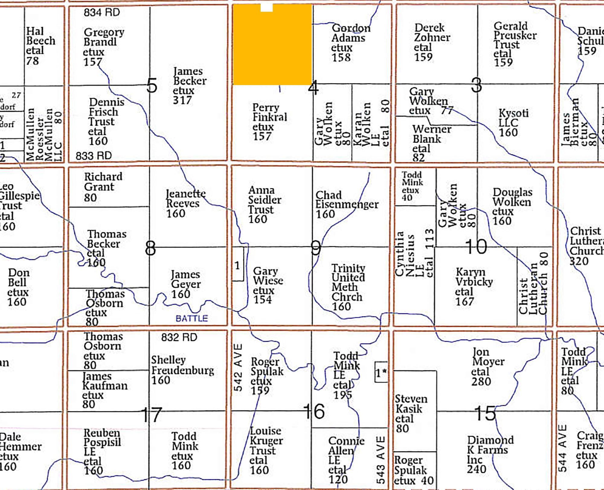 Plat Map-BIR2106