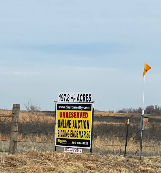 Land Auction 197.8+/- Acres Pratt County, KS