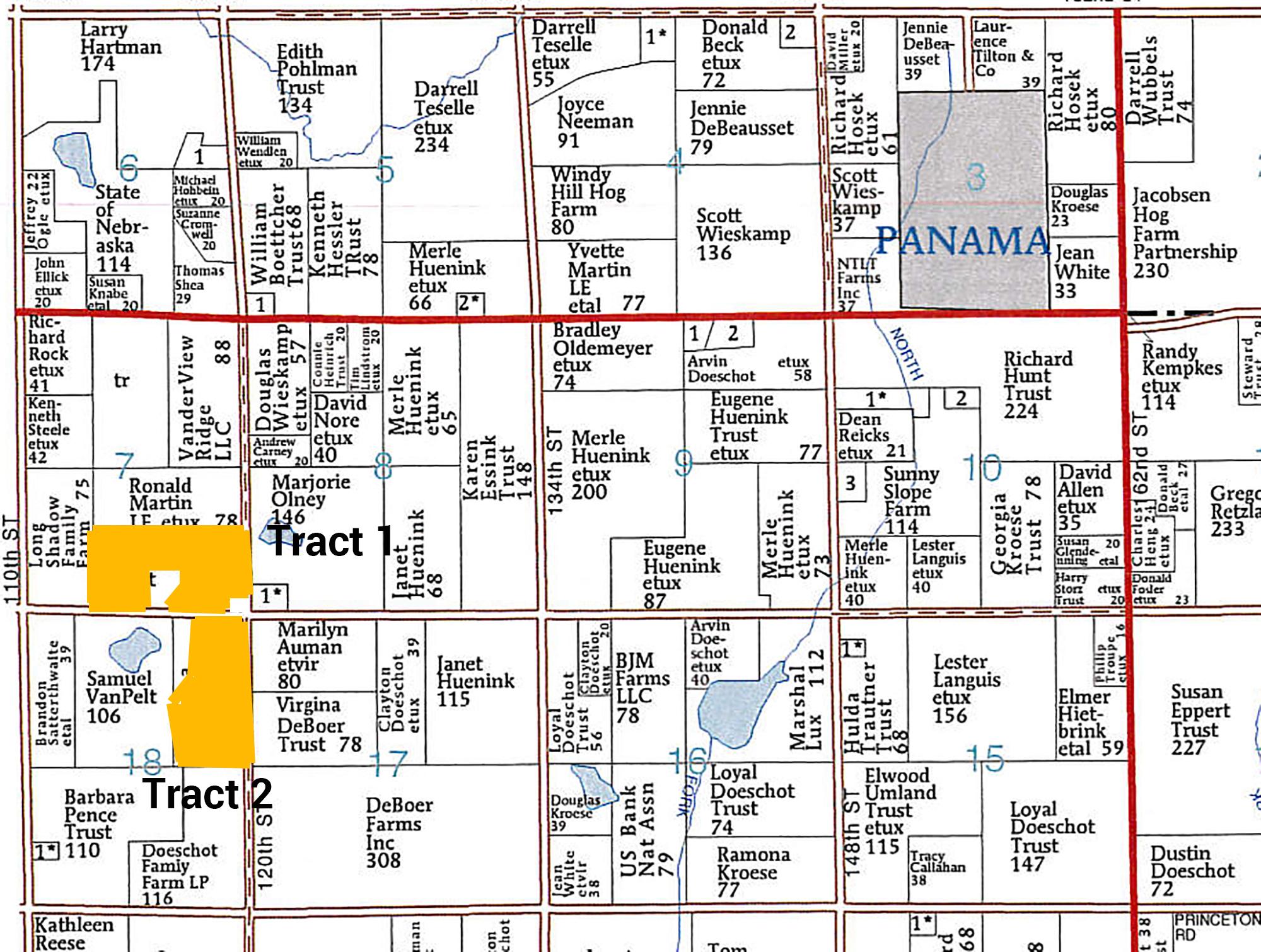 Plat Map BIR2109