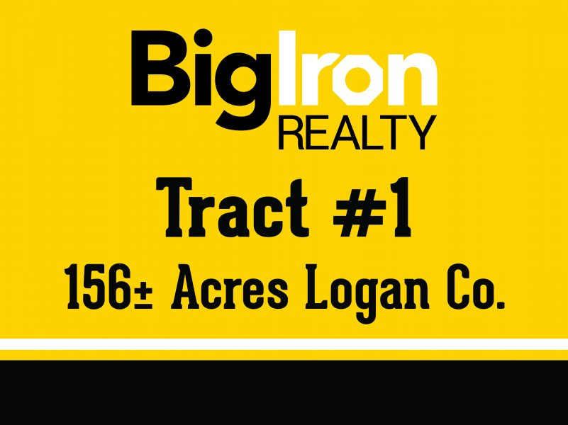 Land Auction 316.7+/- Acres Logan County, KS, selling in 2 Tracts