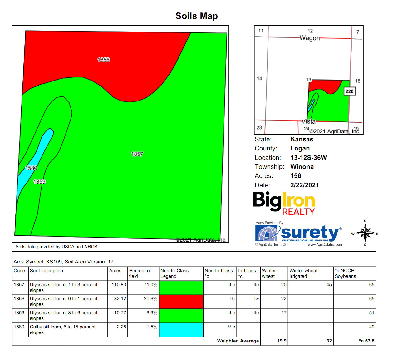 Soil Map 1-BIR2111
