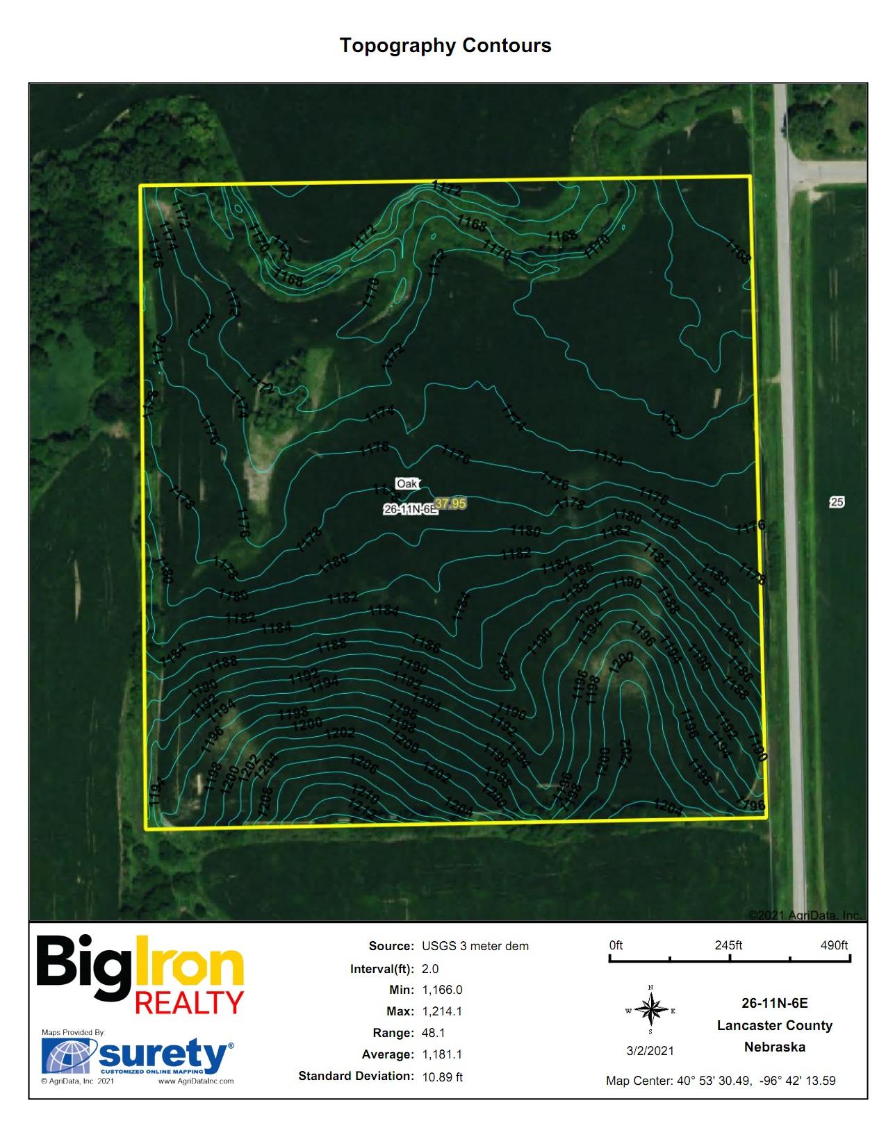 Topography Contours2-BIR2114