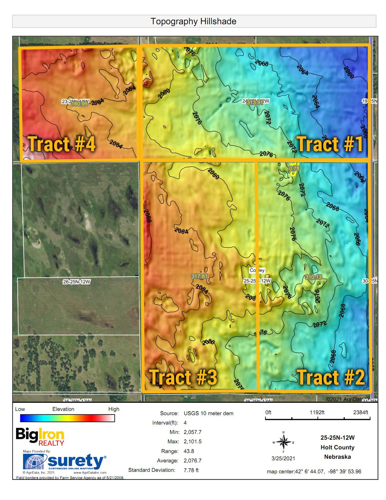 Topography Hillshade_Tr1-4_BIR-2115