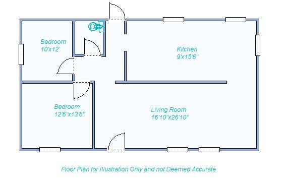Floor Plan 1120 E 8th