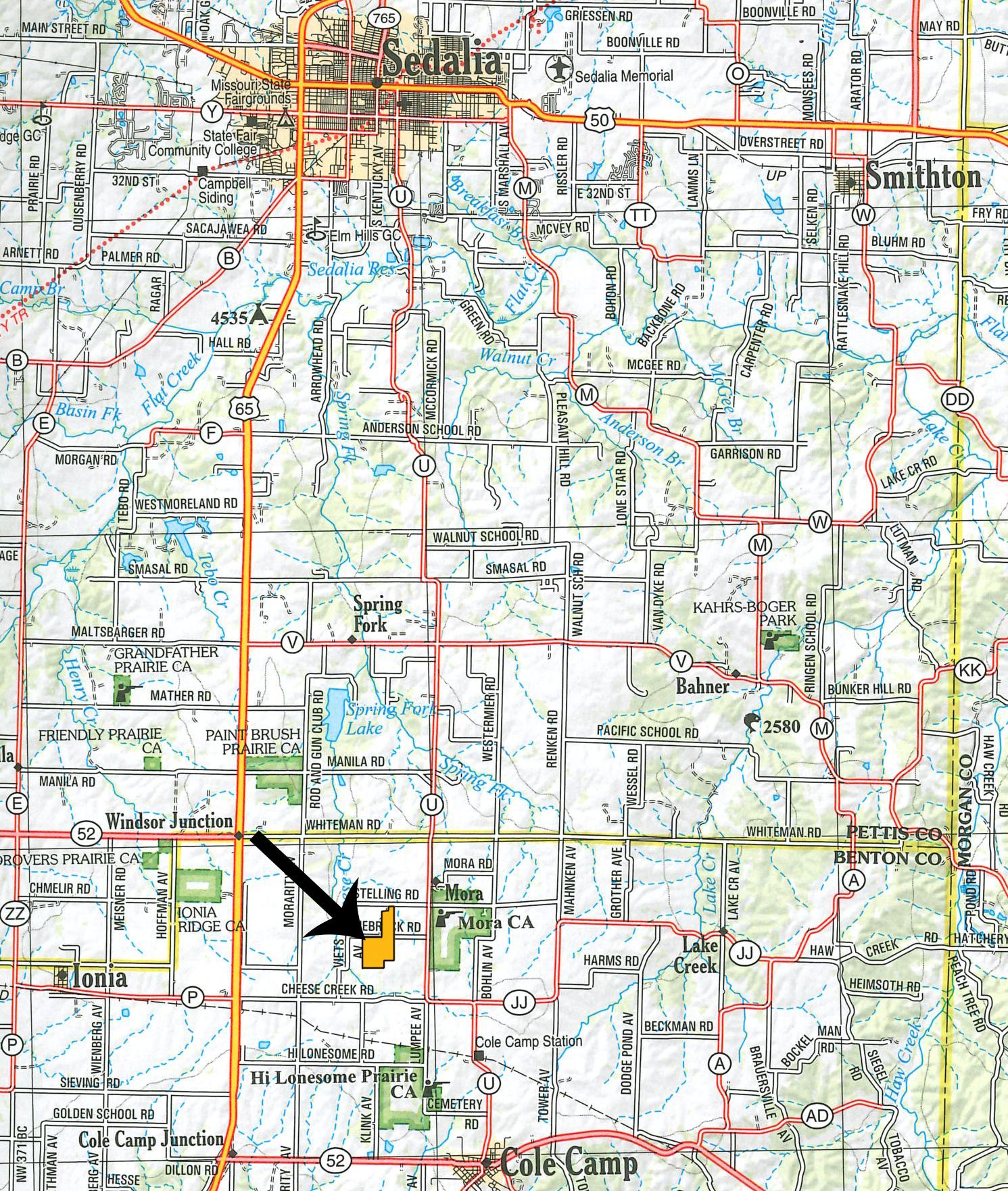 Location Map_BIR-2118
