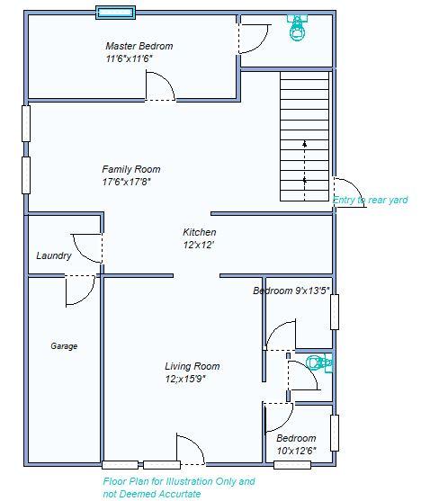 floor plan 1000 E 9th