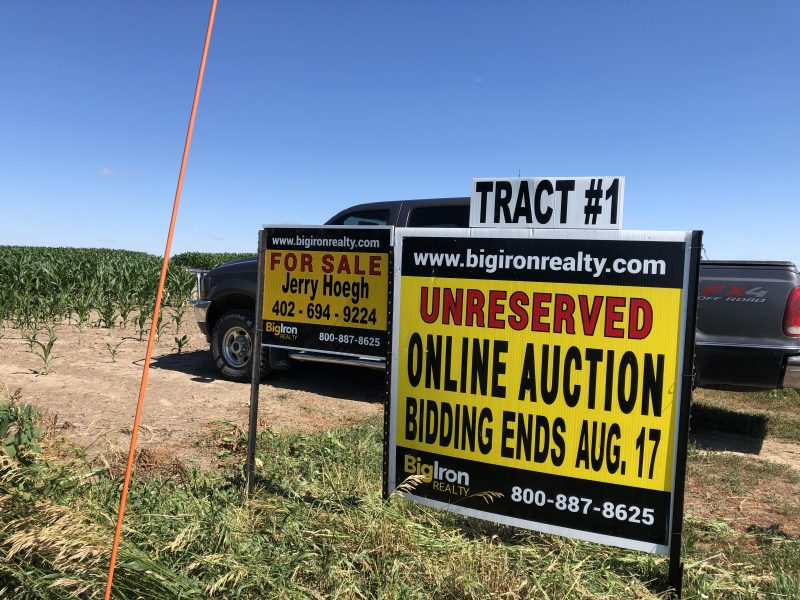 Land Auction 714.68+/- Acres York County, NE selling in 7 Tracts