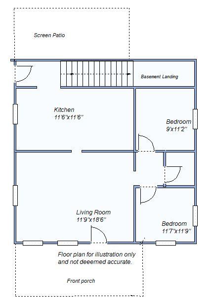 Floor Plan 290 S Franklin