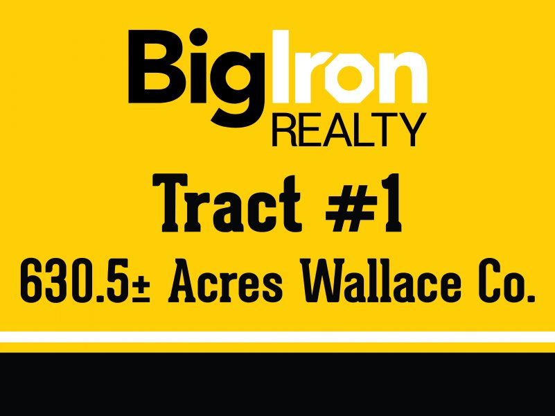 Land Auction 2,211.1+/- Acres Wallace County, KS selling in 4 Tracts