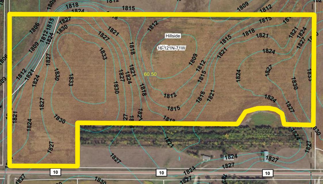 Topography Map-1-BIR2125