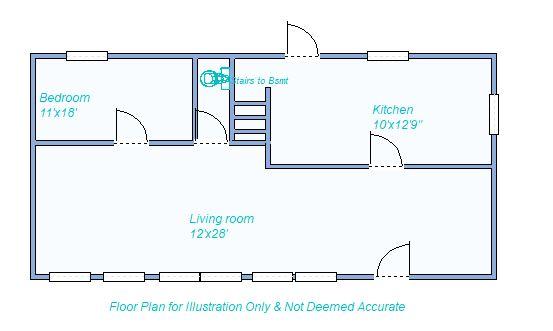 floor plan 485 S Garfield