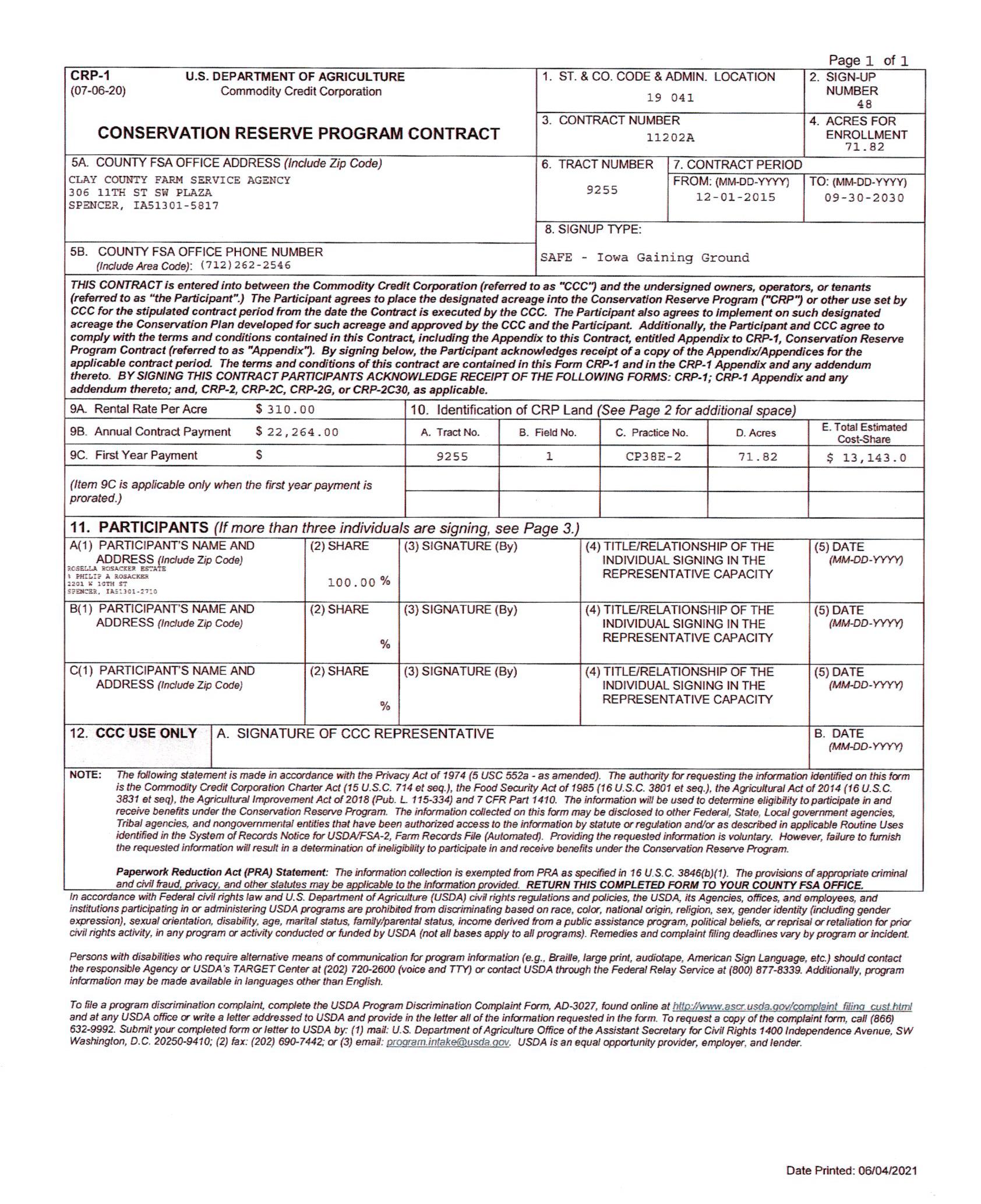 2-CRP Contract-BIR2128