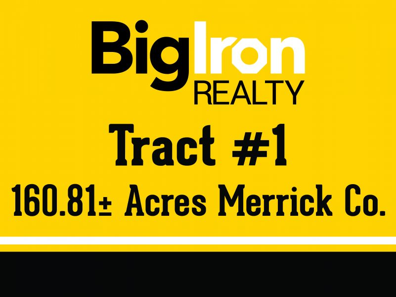 Land Auction 323.83+/- Acres Merrick County, NE selling in 2 Tracts