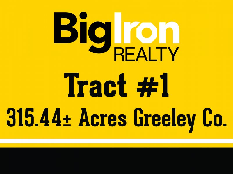 620.73+/- Acres Greeley County, NE selling in 2 Tracts