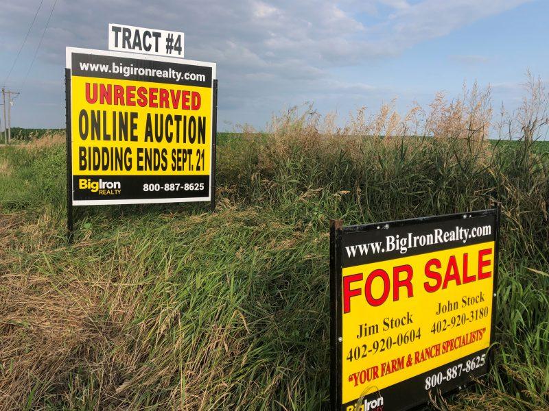 Land Auction 80+/- Acres Colfax County, NE