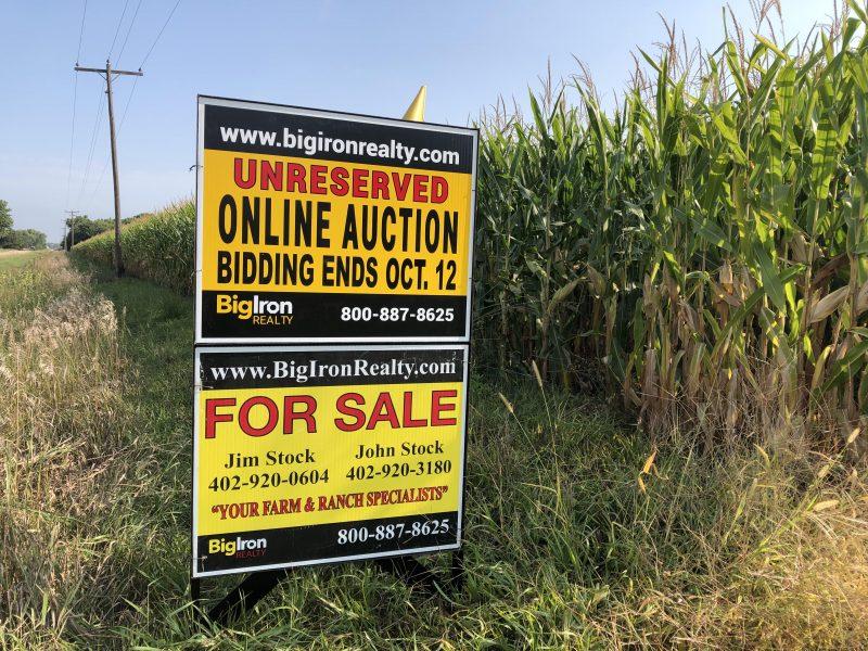 Land Auction 43.6+/- Acres Polk County, NE