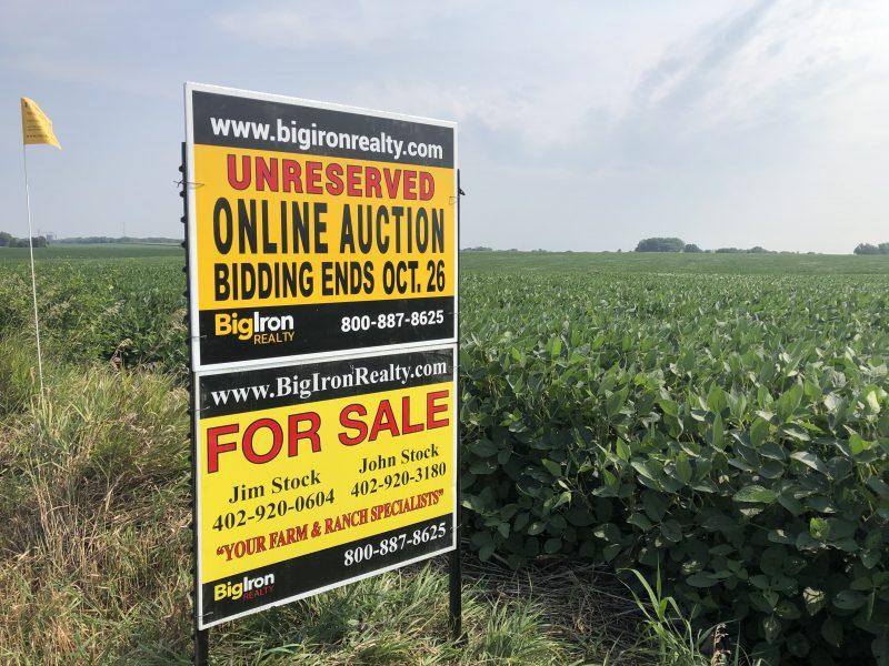 Land Auction 160.96+/- Acres Butler County, NE