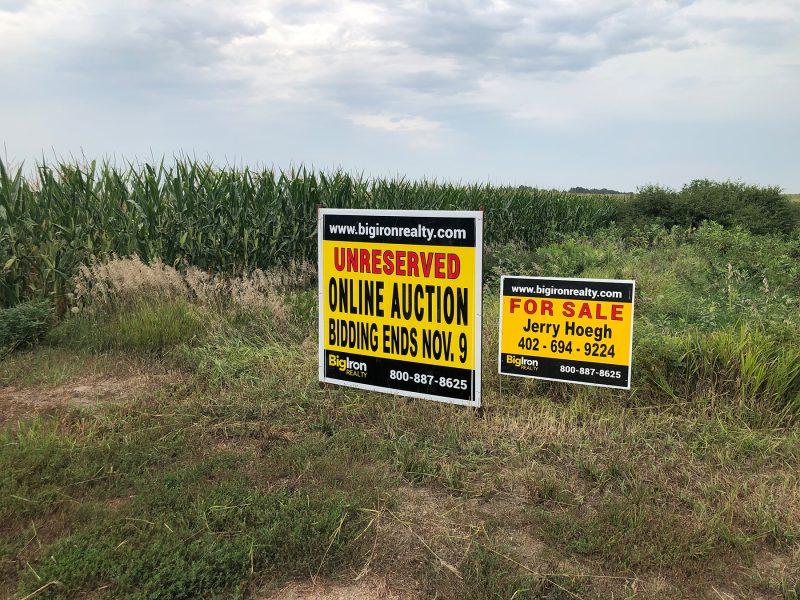 Land Auction 159.16+/- Acres York County, NE