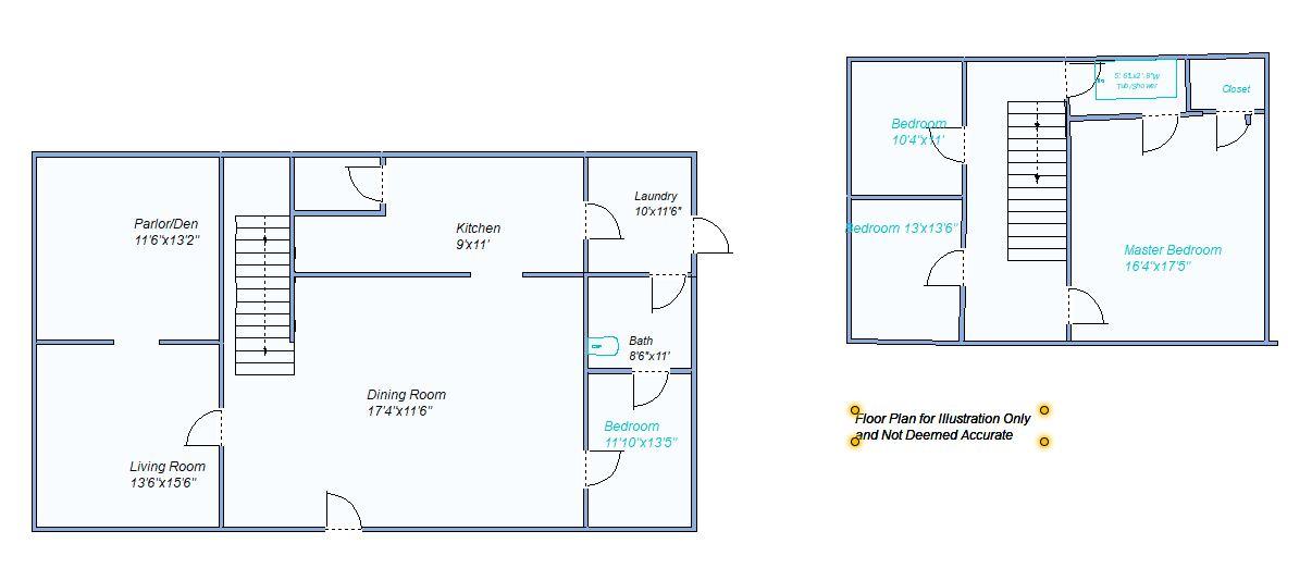 floor plan 216 W 4th