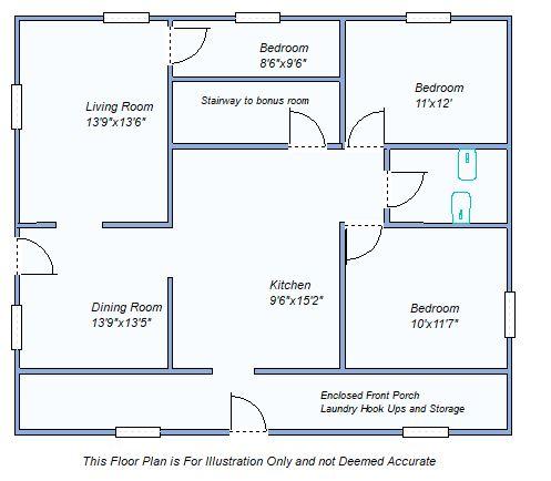 floor plan 2846 Co Rd 11