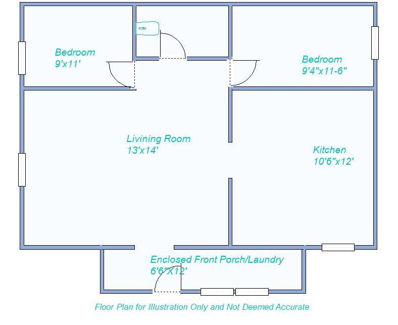 floor plan 555 W Plum