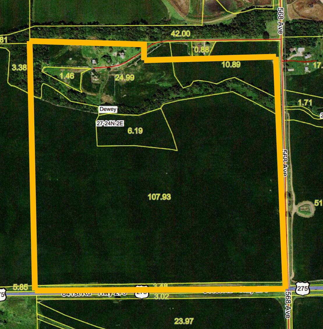 Aerial Map-BIR2155