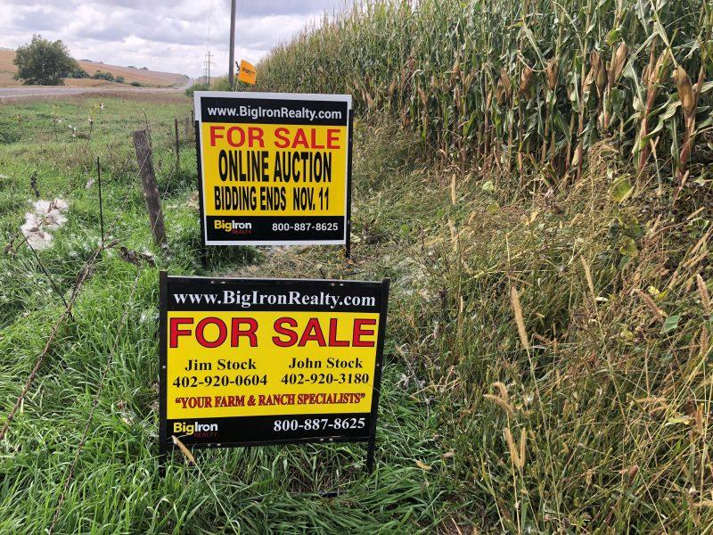 Land Auction 149.47+/- Acres Stanton County, NE