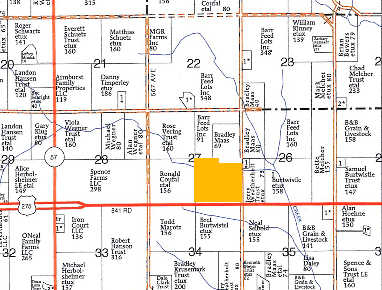Plat Map-BIR2155