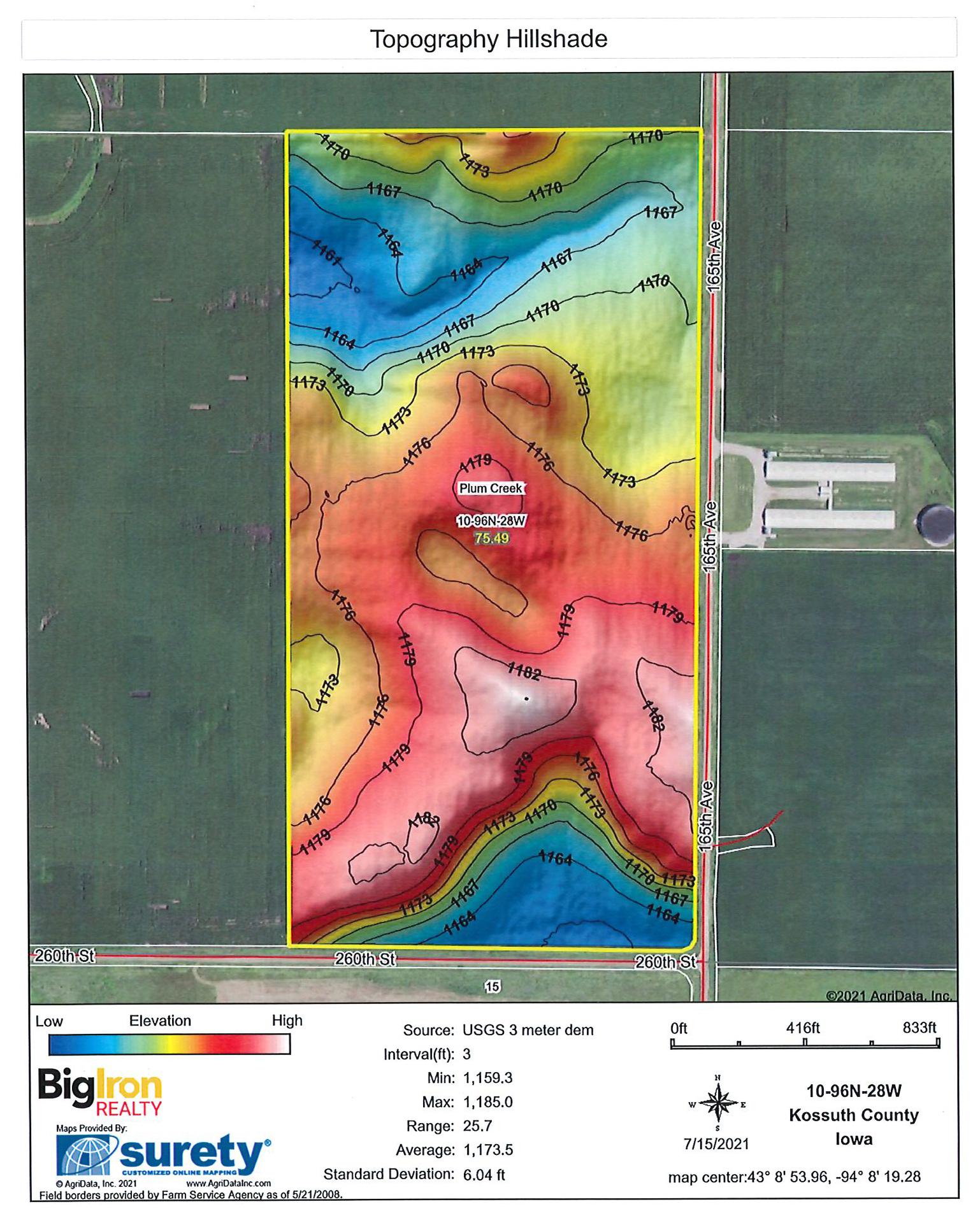 Topography Hillshade-BIR2138